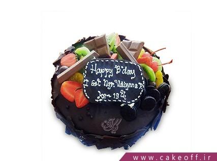 کیک با تزیین میوه - کیک میوه ای 7 | کیک آف