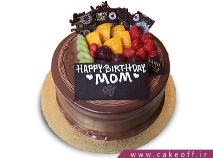کیک با تزیین میوه - کیک میوه ای 10 | کیک آف