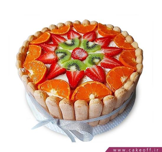 سفارش کیک میوه در اصفهان - کیک میوه ای ۲ | کیک آف