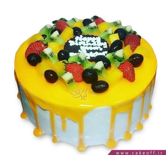 کیک با تزیین میوه - کیک میوه ای ۶ | کیک آف