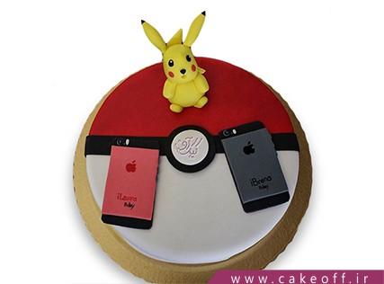کیک تولد خاص - کیک موبایل 3 | کیک آف