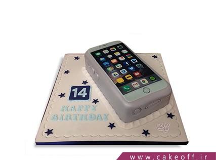 کیک تولد گوشی - کیک موبایل 8 | کیک آف