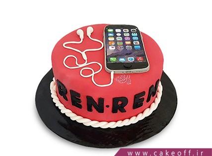کیک تولد گوشی - کیک موبایل 9 | کیک آف
