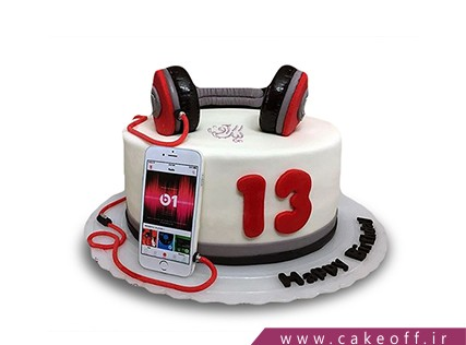 کیک تولد گوشی - کیک موبایل 10 | کیک آف