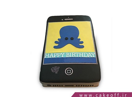 کیک تولد گوشی - کیک موبایل 12 | کیک آف