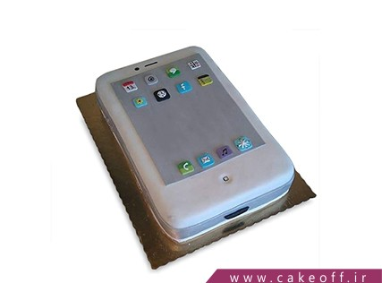 کیک تولد گوشی - کیک موبایل 13 | کیک آف