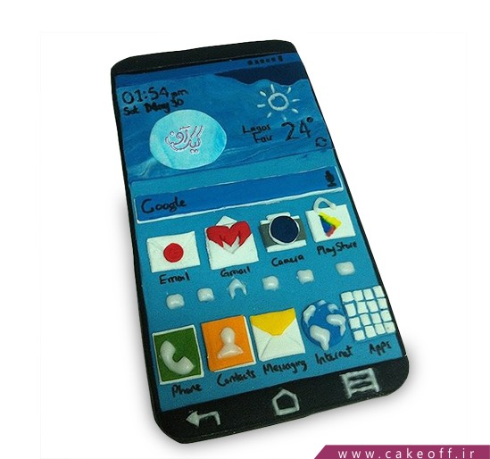 کیک موبایل 7