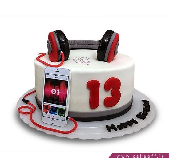 کیک تولد گوشی - کیک موبایل ۱۰ | کیک آف