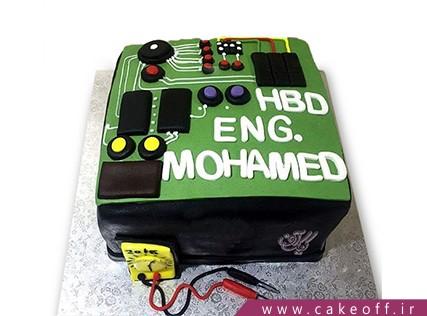 کیک روز مهندس - کیک قانون اهم | کیک آف