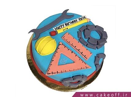 کیک روز مهندس - کیک مای سیویل | کیک آف