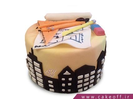 کیک روز مهندس - کیک شهر من | کیک آف