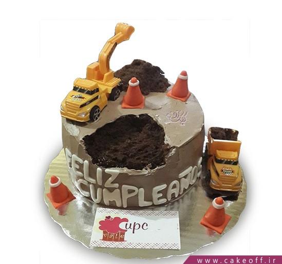 کیک روز مهندس - کیک شهرسازی | کیک آف