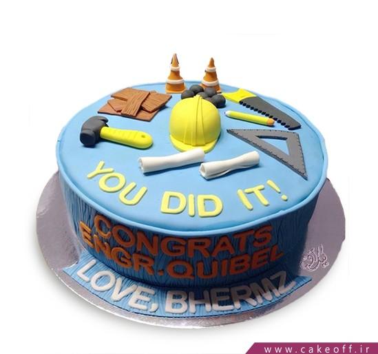 کیک روز مهندس - سازندگی | کیک آف