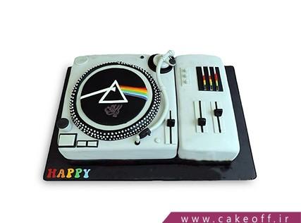 کیک تولد موسیقی - کیک پینک فلوید 1 | کیک آف