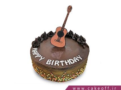 سفارش کیک به شکل گیتار - کیک گیتار اسلش | کیک آف