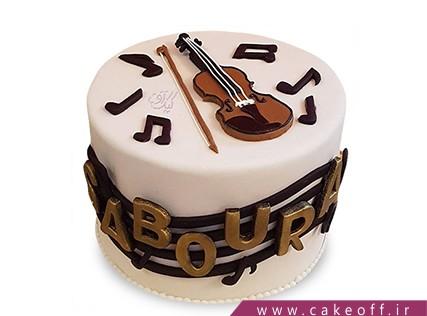 کیک تولد موسیقی - کیک نوای بهشتی | کیک آف