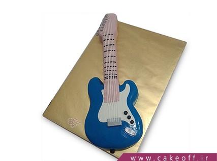 کیک تولد موسیقی - کیک گیتار جف بک | کیک آف