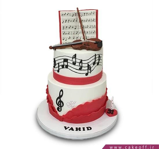 کیک به یاد علی تجویدی