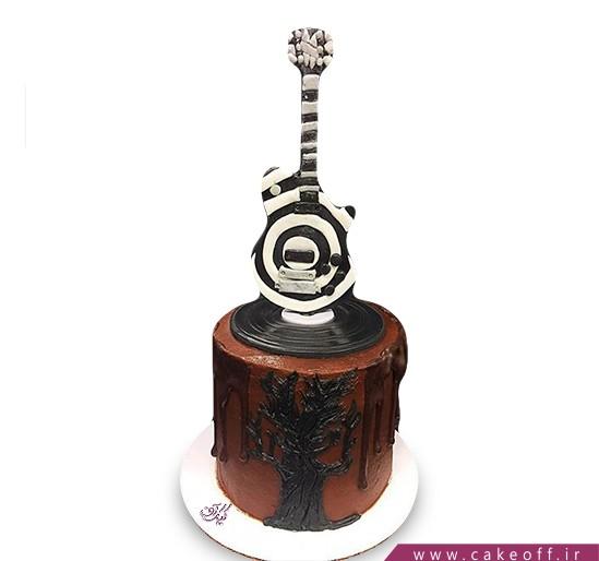 کیک تولد موسیقی - کیک گیتار من | کیک آف