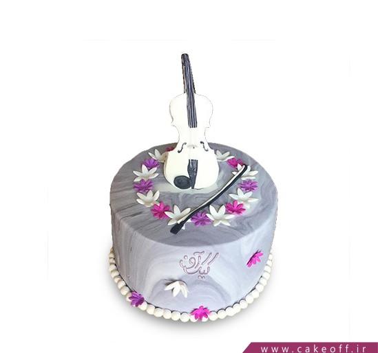 کیک تولد موسیقی - کیک ساز من | کیک آف
