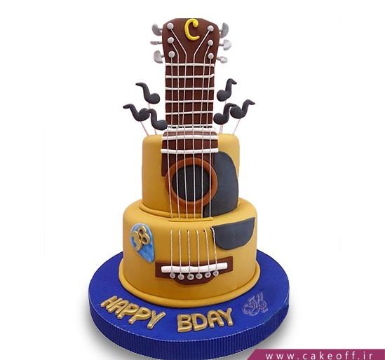 کیک گیتار خوش نوا