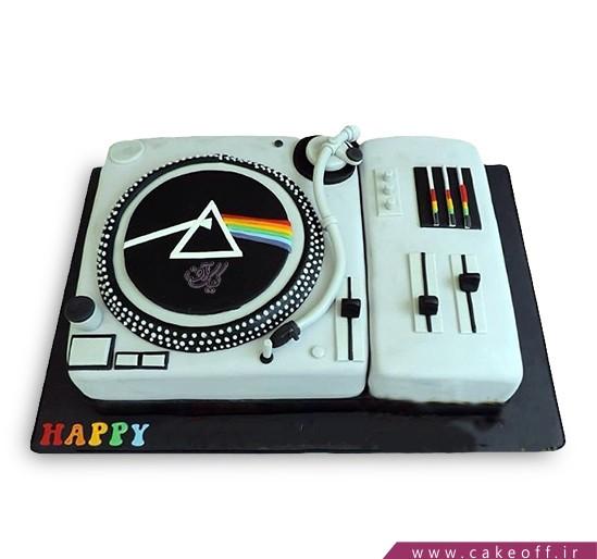 کیک تولد موسیقی - کیک پینک فلوید ۱ | کیک آف