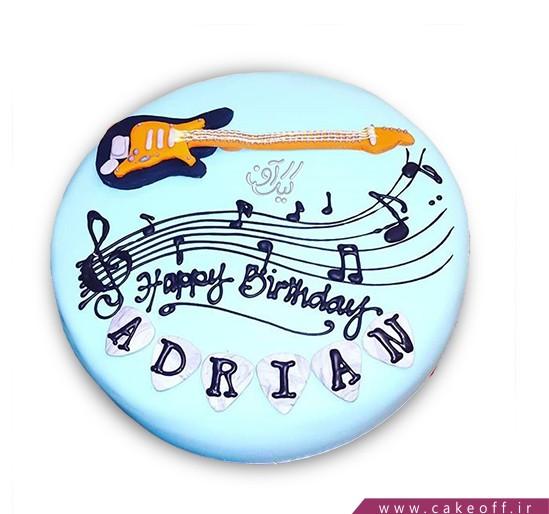 کیک گیتار جانی رامون