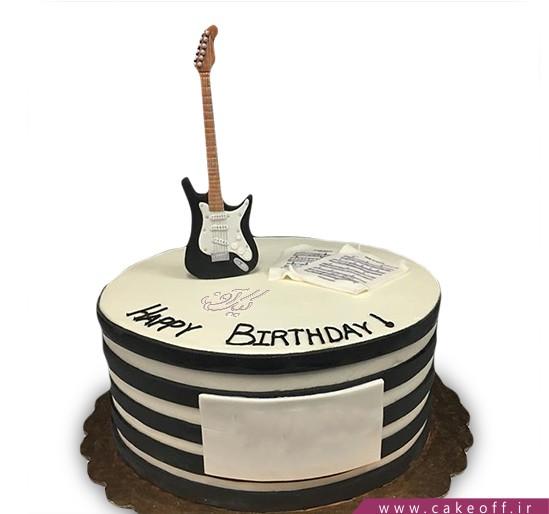 کیک گیتار کیت ریچاردز