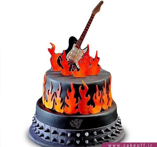 کیک گیتار فردی کینگ