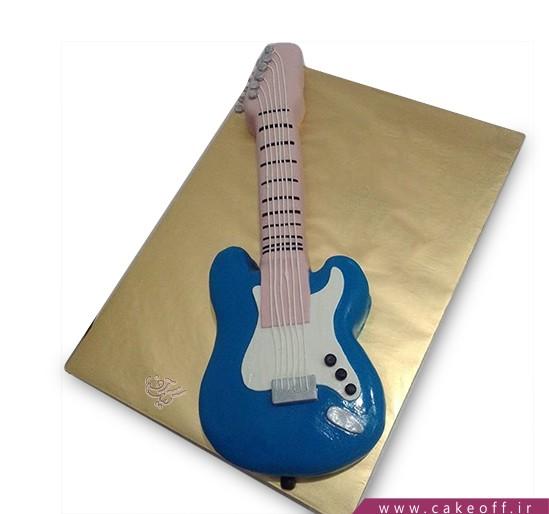 کیک گیتار جف بک