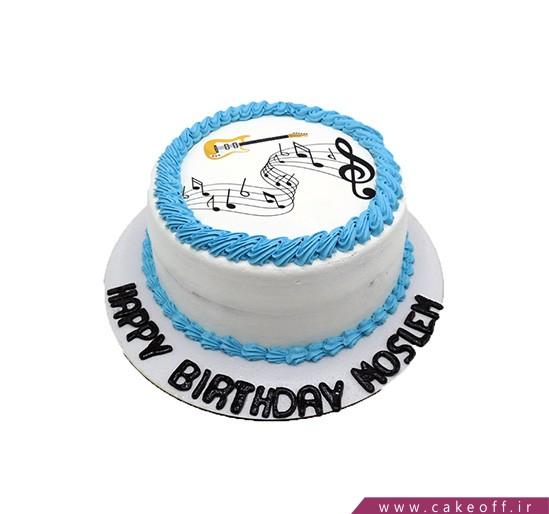 کیک تولد نیوشا و موسیقی دلنواز