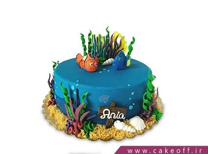 کیک تولد ماهی نمو 3 | کیک آف