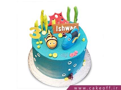 کیک کارتونی ماهی نمو 16 | کیک آف