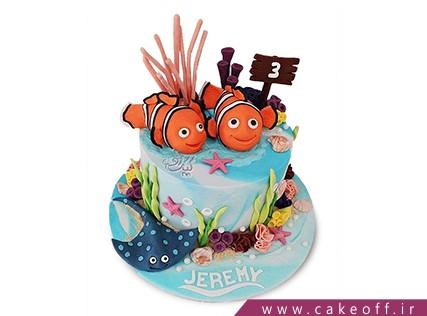 کیک تولد ماهی نمو 5 | کیک آف