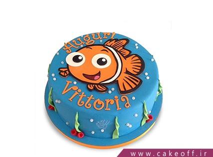کیک تولد ماهی نمو 6 | کیک آف