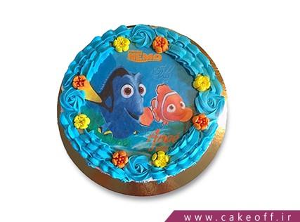 کیک تولد ماهی نمو 7 | کیک آف