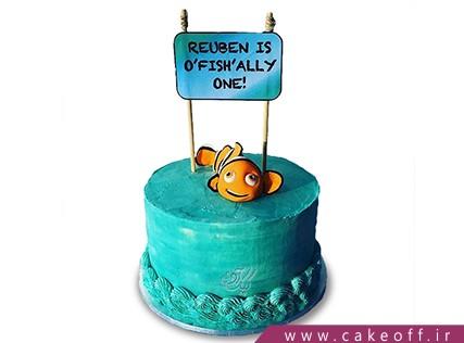 کیک تولد فانتزی - کیک تولد ماهی نمو 8 | کیک آف