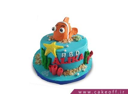 کیک تولد فانتزی - کیک تولد ماهی نمو 9 | کیک آف