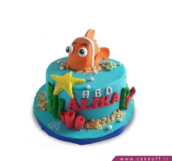 کیک تولد ماهی نمو 9