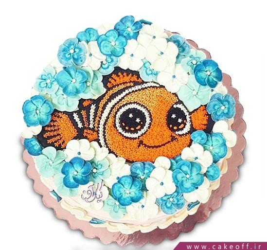کیک تولد ماهی نمو 10