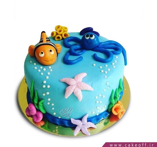 کیک کارتونی ماهی نمو 13 | کیک آف