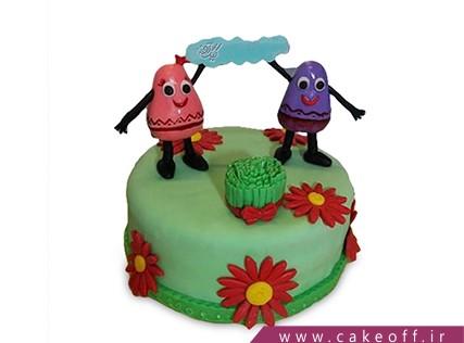 کیک عید نوروز - کیک سنت های ایرانی | کیک آف
