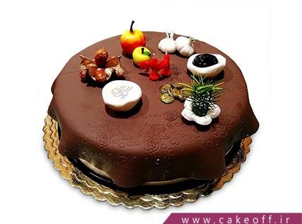 کیک نوروز - کیک سفره هفت سین ایرانی | کیک آف