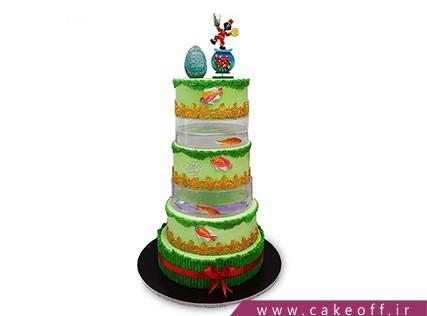کیک هفت سین - کیک ماهی تنگ بلور | کیک آف