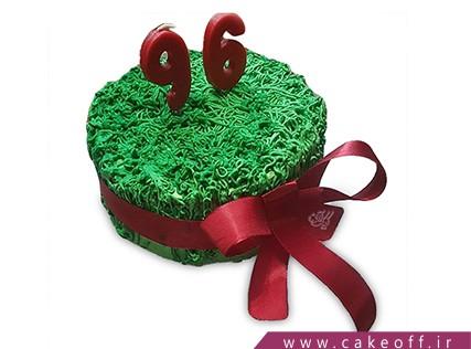 کیک عید نوروز - کیک سین مثل سبزه | کیک آف