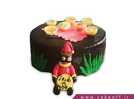 کیک عید نوروز - کیک حاجی فیروز | کیک آف