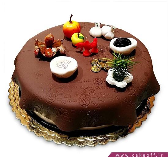 کیک سفره هفت سین ایرانی