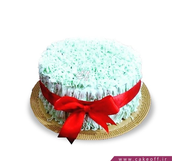 کیک عید نوروز - کیک سبزه | کیک آف