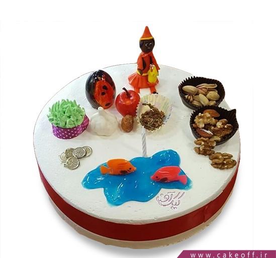 کیک سفره هفت سین کامل
