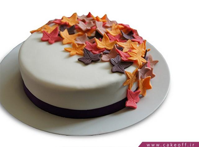 کیک پاییز هزار رنگ | کیک آف
